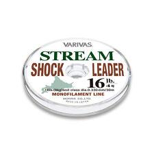 * VARIVAS STREAM SHOCK LEADER 30m Nylon Brown