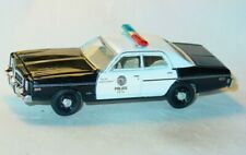 1977 77 DODGE MONACO LOS ANGELES LAPD COLLECTIBLE POLICE CAR -Black & White