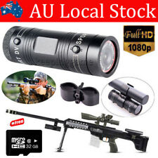 32gb Gun Camera HD Bike Sports DV Action Bullet Cam for Rifle Hunting SHORTGUN