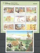 Walt Disney, Bambi - Grenada Grenadinen - ** MNH 1988