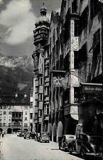 Innsbruck Österreich Tirol 1957 Herzog Friedrich Straße Hotel Weißes Kreuz Autos