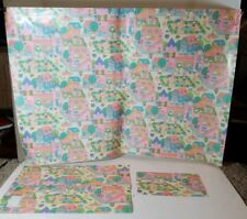 HELLO KITTY 1983 vintage GIFT WRAPPING PAPER AND 2 Gift BAGS SANRIO CO LTD