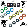 Abec 11 608 2rs Wheel bearings Skateboard scooter Quad inline Roller skate 9 1