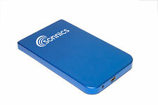 SONNICS 320GB EXTERNAL PORTABLE USB HARD-DRIVE BLUE  RETAIL BOXED