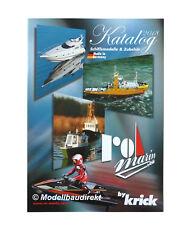Krick Ro-Marin (Robbe) Prospekt 2018 Katalog RC Schiffe & Zubehör NEU