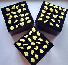 echte Goldnuggets 3,5 MM bis 23 Karat Gold Nuggets Goldbarren Goldmünze Gold!