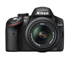 Nikon D D3200 24.2 MP SLR-Digitalkamera - Schwarz (Kit m/ AF-S DX 18-55mm...