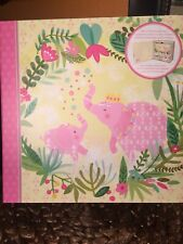 Lady Jayne Baby's First Memory Box Mommy & Daughter Sweet Pink Elephants So Cute