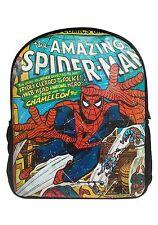 rétro marvel bd spider-man Grand sac à dos école bureau VACANCE TOUT NEUF