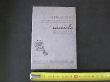 Ducati Cucciolo T 2 Libretto manutenzione Manuale/Istruzioni/Instructions Book
