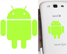 Cut vinyl sticker ANDROID 3,5 x 4 cm Duration outdoors > 10 years