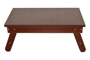 Home Decor Wood Solid Sun Mica Mahogany Finish Folding Table Wood Dining Table