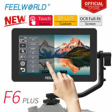 Feelworld F6 PLUS Monitor Touch Screen 4K Micro Single Display Director DSLR