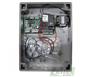 Proteco Q60A 230 Vac control board for swing-leaf gates with 1 or 2 leafs