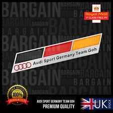 AUDI S LINE SPORTS GERMANY CURVE TEAM GOH BADGE TT S5 S4 A3 A8 TDI Q7 RS PARTS
