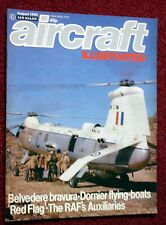 Aircraft Illustrated 1980 August Pitts,Dornier