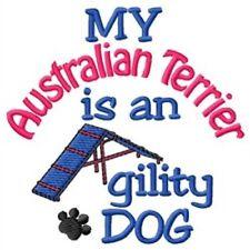 My Australian Terrier is An Agility Dog Short-Sleeved Tee - Dc1936L
