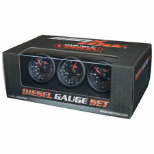 MaxTow 52mm Diesel Gauge Set- Boost, Pyrometer, 30 Fuel Pressure MT-DV-DS2