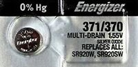 371/370-1 Quantity Energizer Battery  SR920SW  SR920W V371-Authorized seller.