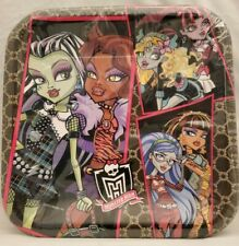 Monster High 9in Party Lunch Dinner Plates 8 Per Package Birthday Supplies New