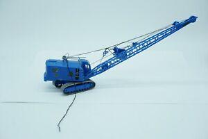 H0 1:87 Bastelschrott Kibri 11283 Menck Bagger M154 LC mit Schürfkübel blau