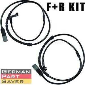 Gevog 2pcs Front Rear Driver+Passenger Brake Pad Sensor Kit for 10-14 BMW X5 X6 M Sport Utility//14 BMW X5 M Sport Sport Utility