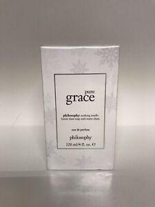 Philosophy Pure Grace Eau De Parfum Perfume 4 oz New in Box
