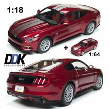 Auto World AW245 1:18 2017 Ford Mustang GT (Combine with 1:64) Diecast Cars