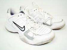 Nike Girls Kids City Court 5.5Y White Tennis Sneakers