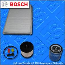 KIT Di Servizio Per PEUGEOT 307 2.0 HDI 8v Filtro Olio Carburante CABINA TECAFILTRES (02-05)