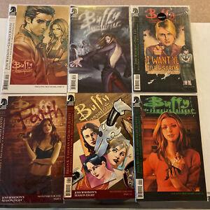 Buffy The Vampire Slayer Season 8 Lot Of 6 Comics