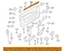 AUDI OEM 08-17 A5 Quattro Door-Insert Left 8T0867409AD7V7