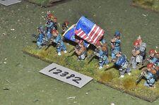 25mm ACW / union - american civil war infantry 13 figures - inf (12382)
