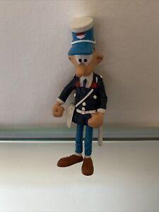 Figurine Gaston Lagaffe ,Agent De Police Longtarin Plastoy 1991, Comme Neuve