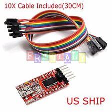 FT232RL FTDI USB 3.3V 5.5V to TTL Serial Adapter Module for Arduino Mini Ports