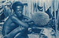 Oceania Missions - Native type postcard
