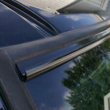 Black Automotive Windshield Rain Gutter Guard Deflector Kit For Chevy Models