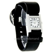 NEW LADIES BAUME & MERCIER VICE VERSA MOA08582 DIAMOND LATHER WATCH ******