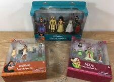 Disney Princess Magiclip Polly Pocket Doll Set- Jasmine, Mulan, Pocahontas!