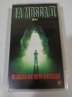 LA MOSCA II THE FLY II CHRIS WALAS VHS TERROR NEW SEALED NUEVO &