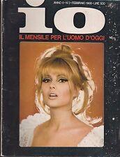 IO n.2 del 1968 pamela tiffin rivista erotica penthouse playboy playmen