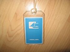 Pan Am Luggage Tag - Vintage Pan American Airlines Clipper Playing Card Name Tag