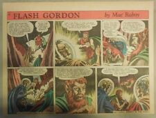 Flash Gordon Sunday Page by Mac Raboy from 3/21/1954 Half Page Size