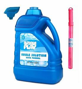 64-Ounce Bubbles - Includes Big Bubble Wand and Easy Pour Funnel Non Toxic  NIB