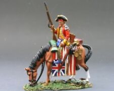 KING & COUNTRY BRITISH REVOLUTIONARY BR051 MOUNTED WOODLAND INDIAN br51