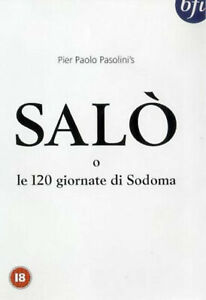 Salo 120 DAYS of Sodom DVD 2001 Pasolini | UK Region 2 | Banned for Years
