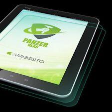 2x 0,4mm H9 Cristal Protector Cristal Templado Lámina para Huawei Tablet Media