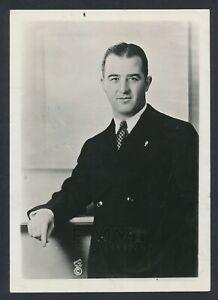 "1935 Albert ""Happy"" Chandler, Early Portrait Photo of Young Baseball HOFer"