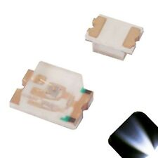 100 x LED 0805 Cool Clear White SMD LEDs SMT Lights Super Ultra Bright Car RC PC