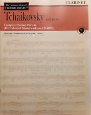 ORCHESTRA PARTS FOR CLARINET - TCHAIKOVSKY AND MORE - PRINTABLE FROM CD-ROM